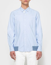 Sacai Shirt In Light Blue