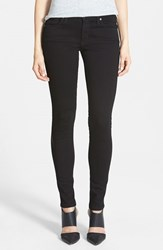 Women's James Jeans 'Twiggy' Five Pocket Leggings Black Clean