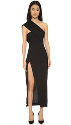 Solace London Dunaway Maxi Dress Black
