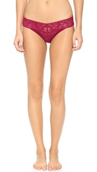 Hanky Panky Signature Lace Panties Cranberry