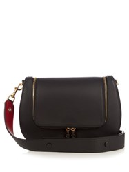 Anya Hindmarch Vere Satin Leather Satchel Black