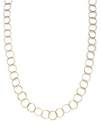 Giani Bernini 24K Gold Over Sterling Silver Necklace Round Link Necklace