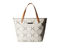 Petunia Pickle Bottom Glazed Downtown Tote Breakfast In Berkshire Tote Handbags Bone