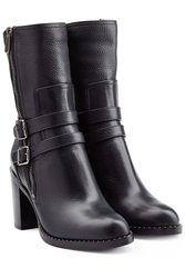 Paul Andrew Leather Boots Black