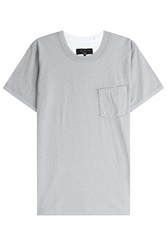 Rag And Bone Rag And Bone Cotton T Shirt With Breast Pocket Multicolor