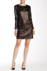 Insight Long Sleeve Shift Dress