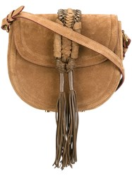 Altuzarra Hobo Crossbody Bag Nude And Neutrals