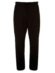 Tim Coppens Wide Leg Wool Trousers Black