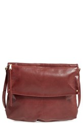 Hobo Kerrigan Leather Crossbody Bag Brown