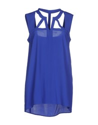Space Style Concept Topwear Tops Women Blue