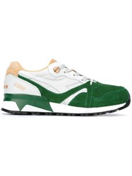 Diadora Panelled Sneakers Green