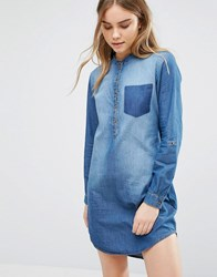 Jdy J.D.Y Move Denim Dress Blue