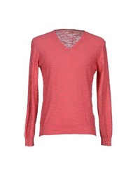 Maestrami Knitwear Jumpers Men Coral