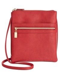 Styleandco. Style And Co. Dasher Crossbody Only At Macy's Scarlet