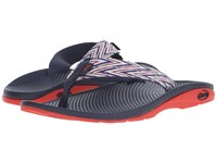 Chaco Flip Ecotread Incan Red Women's Shoes Navy