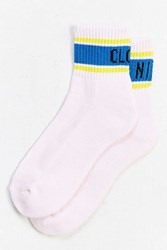 Urban Outfitters Cloud Nine Ankle Sock Pink