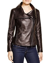 Kors Michael Kors Leather Moto Jacket