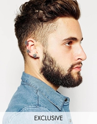 Designsix Claw Ear Cuff Exclusive To Asos Silver
