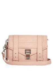 Proenza Schouler Ps1 Mini Leather Cross Body Bag Light Pink