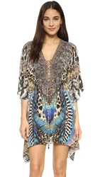 Camilla Fan Of The Wild Lace Up Caftan