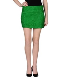 Aspesi Mini Skirts Green
