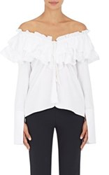 Opening Ceremony Women's Off The Shoulder Blouse White