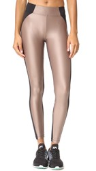Koral Helix Leggings Caramel Black