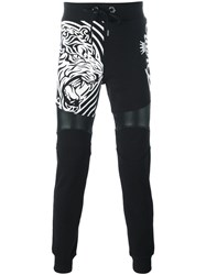 Philipp Plein 'Tribal' Track Pants Black