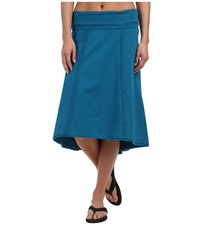 Prana Tia Skirt Mosaic Blue Women's Skirt
