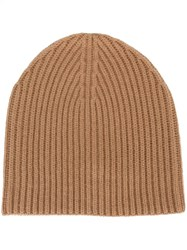 Joseph Ribbed Beanie Nude And Neutrals