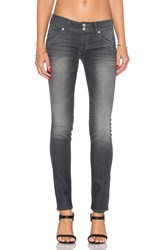 Hudson Jeans Collin Midrise Skinny Reckless