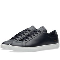Common Projects Retro Low Boxed Leather Blue