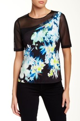 Elie Tahari Joy Blouse Black