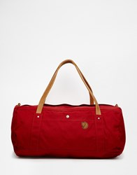 Fjall Raven Fjallraven No.4 Duffle Bag In Large Red