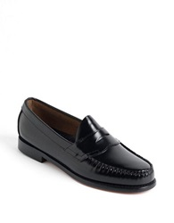 Bass Logan Penny Loafers Black