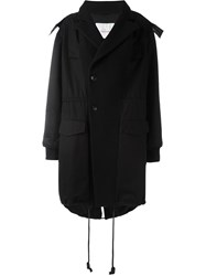 A.F.Vandevorst Hooded Parka Black