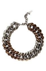 Women's Lafayette 148 New York Oversize Chain Link Necklace