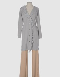 Douuod Coats And Jackets Full Length Jackets Women Light Grey