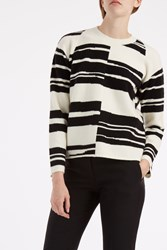 Proenza Schouler Women S Long Sleeved Striped Jumper Boutique1 Multi