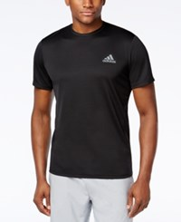 Adidas Men's Big And Tall Essential Tech T Shirt Black