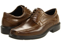 Ecco Helsinki Bicycle Toe Tie Cocoa Brown Men's Lace Up Bicycle Toe Shoes
