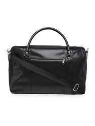 Fred Perry Pique Textured Overnight Bag Black