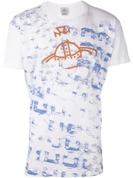 Vivienne Westwood Man Graphic Print T Shirt White