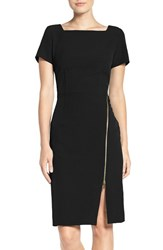 Julia Jordan Women's Side Zip Sheath Dress