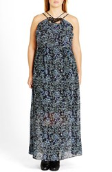 City Chic Plus Size Women's Day Dreamer' Maxi Dress