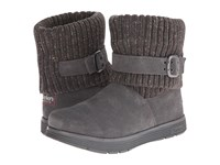 Skechers Adorbs Charcoal Women's Cold Weather Boots Gray