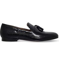 Kg By Kurt Geiger Joachim Patent Leather Loafers Black