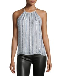 Parker Current Sleeveless Top Iridescent