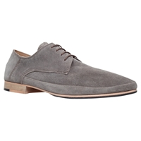 Kg By Kurt Geiger Farnsfield Suede Derby Shoes Grey