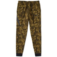 Nike Tech Fleece Camo Jogger Green